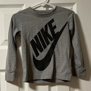 Nike 2T Grey long sleeve T-shirt